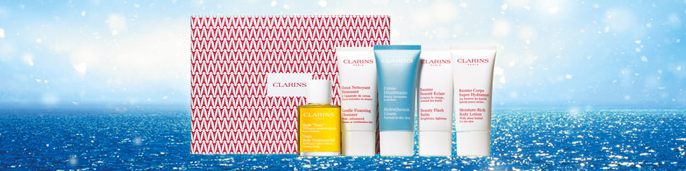Clarins - skin care from Santa Line