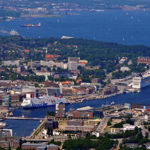 Stena Scandinavica in the Kiel harbour 20110605 Foto: Behling