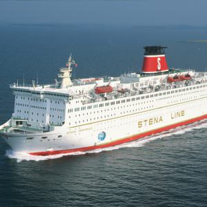 Stena Germanica II in the 80ies & 90ies Photo: Behling