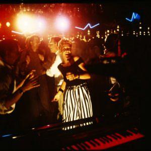 The dance floor onboard in the 80ies