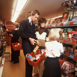 Shopping onboard in the 70ies