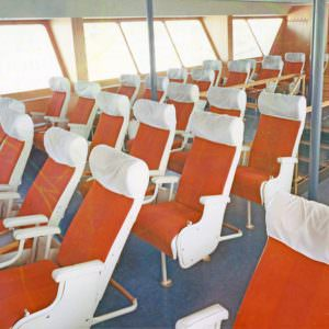 The skybar onboard in the 70ies