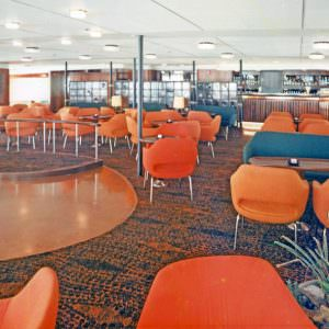 The bar onboard the Stena Germanica I in the 60ies & 70ies