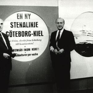 Sten A Olsson & Rolf Renger announcing the Gothenburg & Kiel