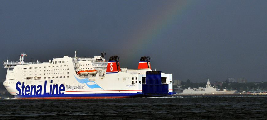 Stena Germanica under the rainbow by Behling 20110606