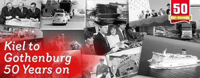 Kiel - Gothenburg 50 year anniversary