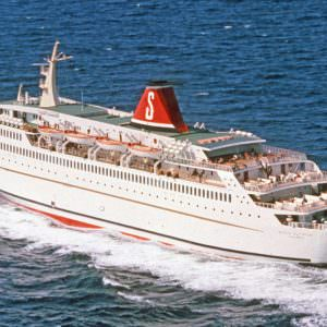Stena Olympica in the summer of 1972