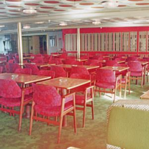 The Cafeteria Marathon on board the Stena Olympica