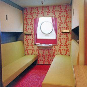 A 4 berth cabin on board the Stena Olympica