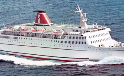 STENA OLYMPICA At delivery in 1972