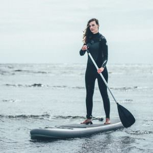 Active vacation – stand up paddle