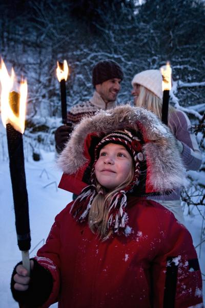 Visit Garmisch-Partenkirchen, go for a nighttime torch-lit tour of one of Bavaria's natural wonders — the Partnach Gorge