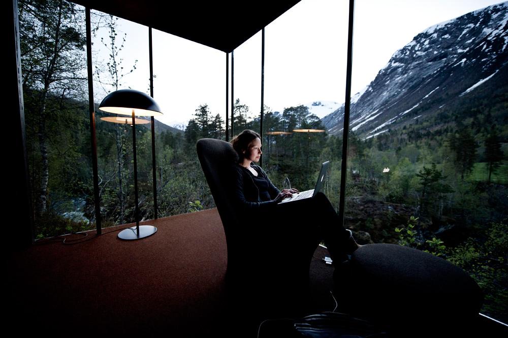 Indoor Outdoor architecture in Norway