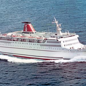 STENA OLYMPICA at deivery in 1972