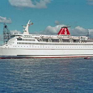 Stena Olympica in August 1972. Photo: Rickard Sahlsten