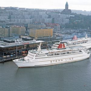 At the terminal in Gothenburg – STENA JUTLANDICA and STENA OLYMPICA