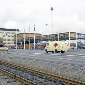 The terminal in Gothenburg in 1974